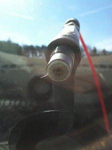 windshield chip repair at DeDona