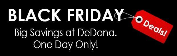 DeDona black friday deal