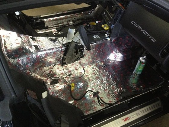sound dampening for car