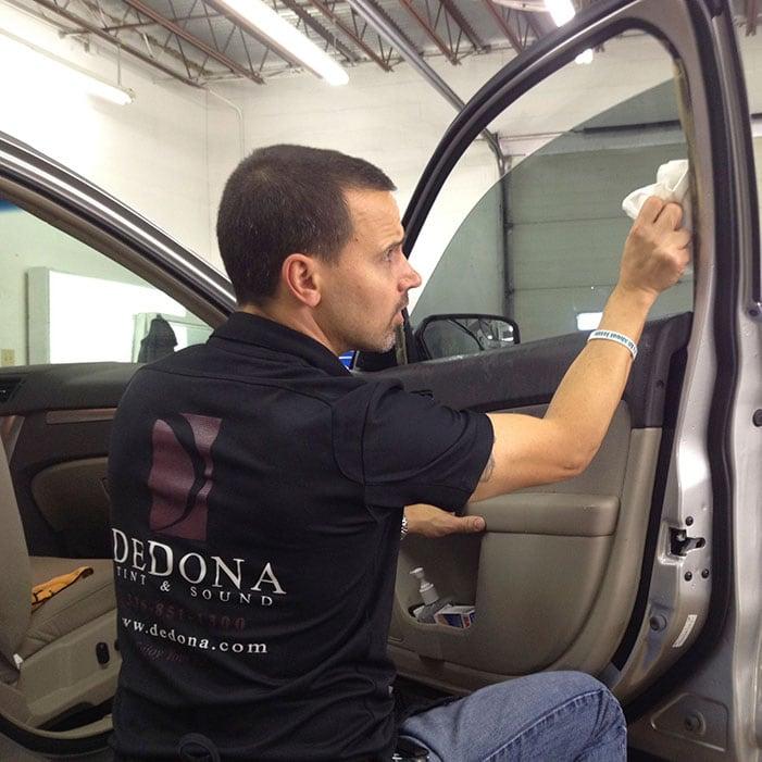 DeDona automotive window tinting